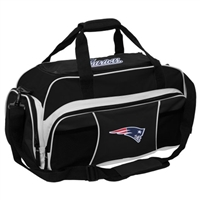 New England Patriots NFL Tuck Sport Gym Bag (Black)