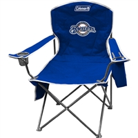 Milwaukee Brewers MLB Cooler Quad Tailgate Chair