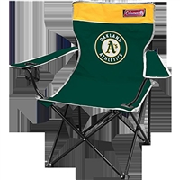 Oakland Athletics MLB Broadband Quad Chair