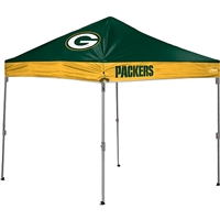 Green Bay Packers NFL 10' x 10' Straight Leg Shelter
