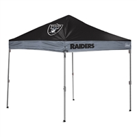 Coleman Oakland Raiders NFL 10' x 10' Straight Leg Shelter