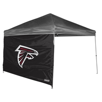 Atlanta Falcons NFL 10' x 10' Straight Leg Canopy Wall