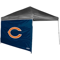 Chicago Bears NFL 10' x 10' Straight Leg Shelter Side Wall