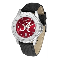 Alabama Crimson Tide Competitor AnoChrome Watch, Poly/Leather Band