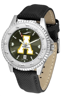 Appalachian State Mountaineers Competitor AnoChrome Watch, Poly/Leather Band