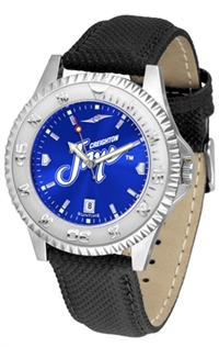 Creighton Blue Jays Competitor AnoChrome Watch, Poly/Leather Band