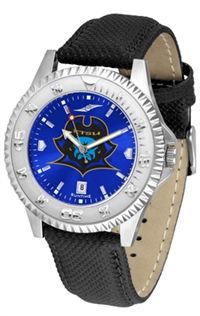 East Tennessee State Buccaneers Competitor AnoChrome Watch, Poly/Leather Band