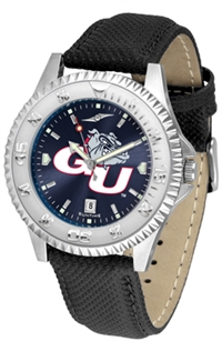 Gonzaga Bulldogs Competitor AnoChrome Watch, Poly/Leather Band