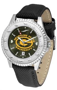 Grambling Tigers Competitor AnoChrome Watch, Poly/Leather Band