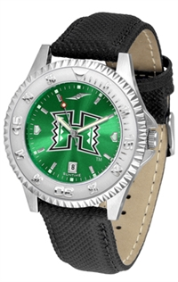 Hawaii Warriors Competitor AnoChrome Watch, Poly/Leather Band
