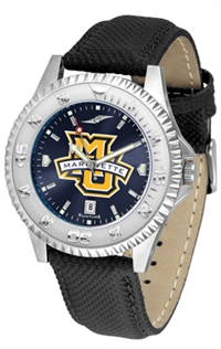 Marquette Golden Eagles Competitor AnoChrome Watch, Poly/Leather Band