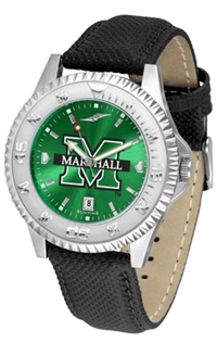 Marshall Thundering Herd Competitor AnoChrome Watch, Poly/Leather Band