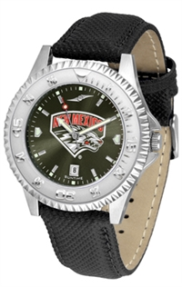 New Mexico Lobos Competitor AnoChrome Watch, Poly/Leather Band