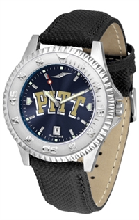 Pittsburgh Panthers Competitor AnoChrome Watch, Poly/Leather Band