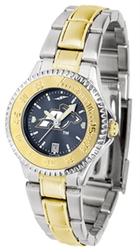 Akron Zips Competitor Anochrome Dial Two Tone Band Watch - Ladies