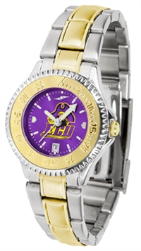East Carolina Pirates Competitor Anochrome Dial Two Tone Band Watch - Ladies