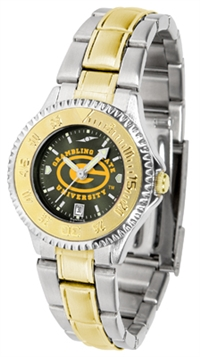 Grambling State Competitor Anochrome Dial Two Tone Band Watch - Ladies
