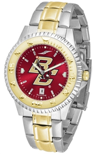 Boston College Eagles Competitor Anochrome Dial Two Tone Band Watch