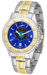 East Tennessee State (ETSU) Buccaneers Competitor Anochrome Dial Two Tone Band Watch