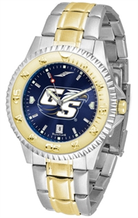 Georgia Southern (GSU) Eagles Competitor Anochrome Dial Two Tone Band Watch