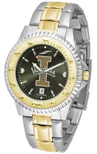 Idaho Vandals Competitor Anochrome Dial Two Tone Band Watch
