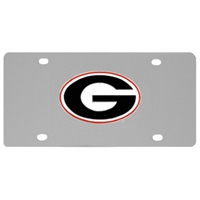Siskiyou Sports College License Plate - Georgia Bulldogs