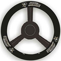 Pittsburgh Penguins NHL Leather Steering Wheel Cover