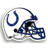 Indianapolis Colts NFL 12 Car Magnet""