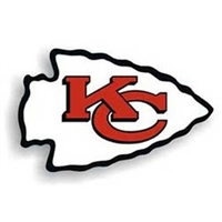 Kansas City Chiefs NFL 12 Car Magnet""