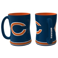 Chicago Bears NFL Coffee Mug - 15oz Sculpted (Single Mug)