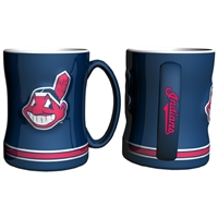 Cleveland Indians MLB Coffee Mug - 15oz Sculpted (Single Mug)