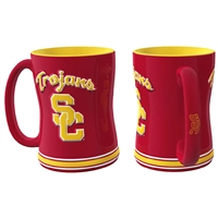 USC Trojans NCAA Coffee Mug - 15oz Sculpted (Single Mug)
