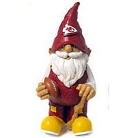 Kansas City Chiefs NFL 11 Garden Gnome""