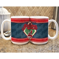 Cleveland Indians MLB Coffee Mug - 15oz Felt Style (Single Mug)