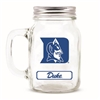 Duke Blue Devils NCAA Mason Jar Glass With Lid