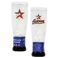 Houston Astros MLB Crystal Pilsner Glass