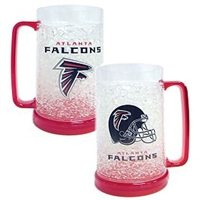 Atlanta Falcons NFL Crystal Freezer Mug