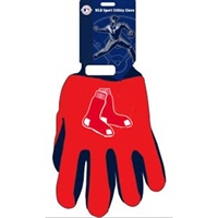 Boston Red Sox MLB Two Tone Gloves