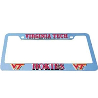 Virginia Tech Hokies Tag Frame