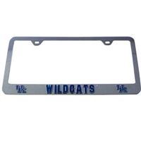Kentucky Wildcats 3D License Tag Frame