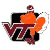 Collegiate Hitch Cover - Virginia Tech Hokies