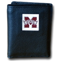 College Tri-fold Wallet - Mississippi St. Bulldogs
