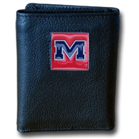 Mississippi Ole Miss Rebels Tri-fold Sporty Wallet