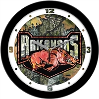 "Arkansas Razorbacks 12"" Wall Clock - Camo"