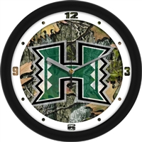 "Hawaii Warriors 12"" Wall Clock - Camo"