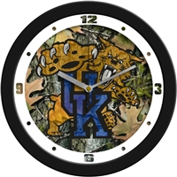 "Kentucky Wildcats 12"" Wall Clock - Camo"