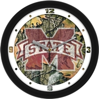 "Mississippi State Bulldogs 12"" Wall Clock - Camo"