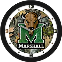 "Marshall Thundering Herd 12"" Wall Clock - Camo"