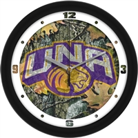 "North Alabama Lions UNA 12"" Wall Clock - Camo"