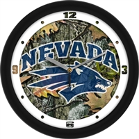 "Nevada Wolfpack 12"" Wall Clock - Camo"